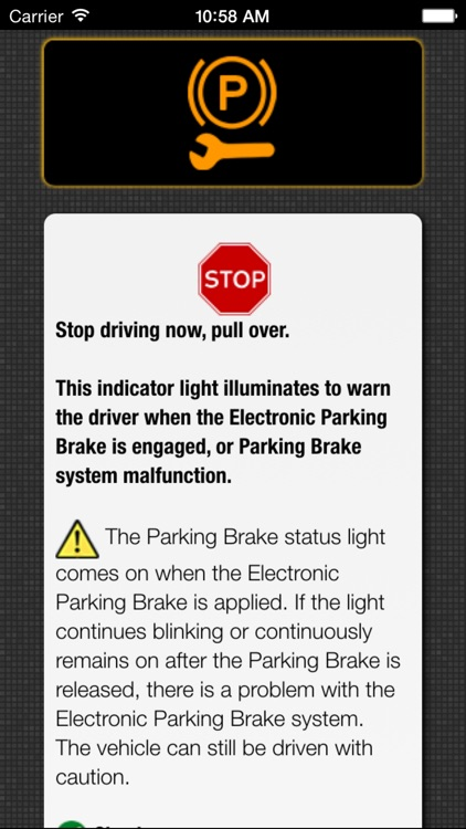 App for Chevrolet Cars - Chevrolet Warning Lights & Road Assistance - Car Locator screenshot-3