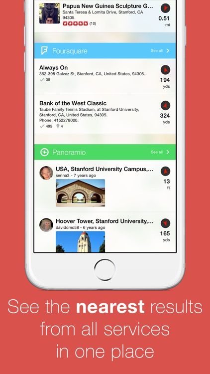 Localscope - Find places and people around you