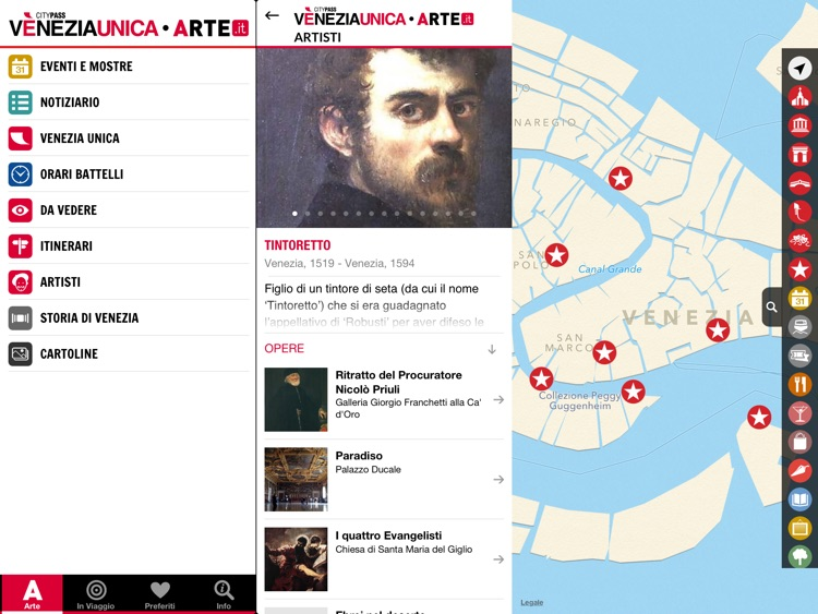 ARTE.it Venezia Unica for iPad screenshot-3