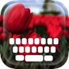 カスタムキーボード花と美しい花:ガーデンス...