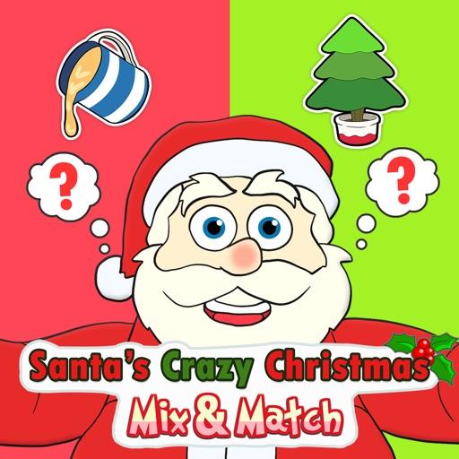 Santa's Crazy Christmas Mix & Match