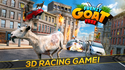 Frenzy Goat . Super Cool Mountain Simulator Game For Kids