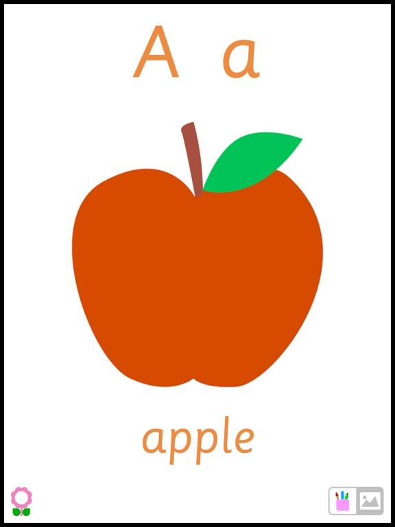A for Apple (Alphabets Flashcards for Preschool Kids)-ipad-1