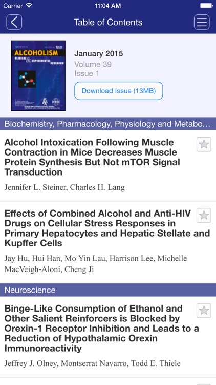 Alcoholism: Clinical and Experimental Research