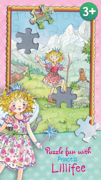 Puzzle fun with Princess Lillifee screenshot-0