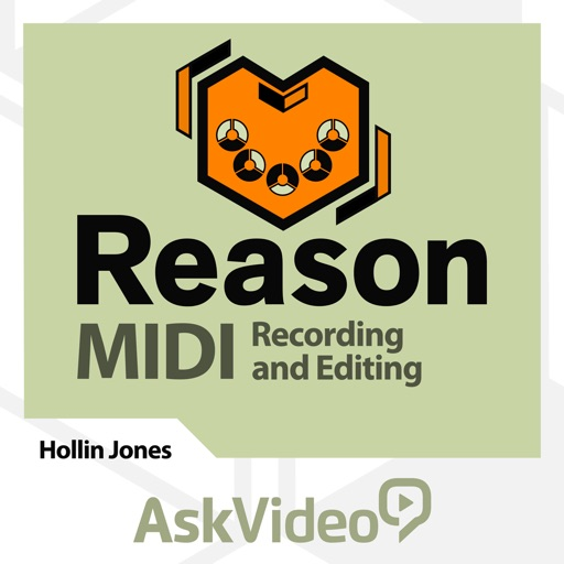 MIDI Recording & Editing For Reason