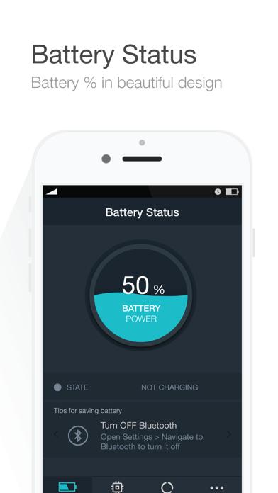 Battery Saver - Manage battery life & Check system status - screenshot