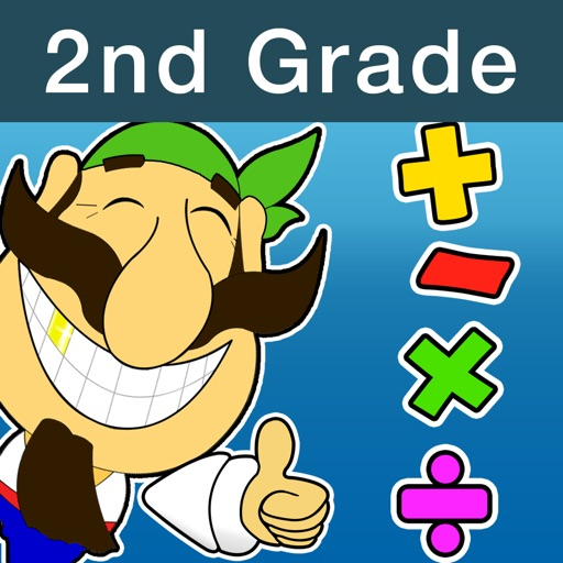 Math & Smart Pirates. SeaFight. 2nd Grade.