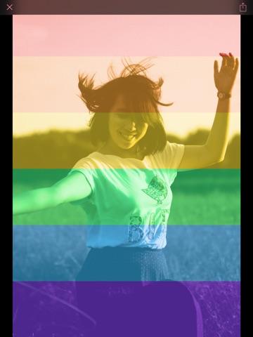 Celebrate Pride: Rainbow Photo Filter Screenshots