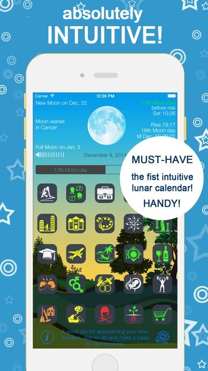 Lunarist Lunar calendar. Horoscope & astrology screenshot-0