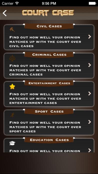 Court Case screenshot two