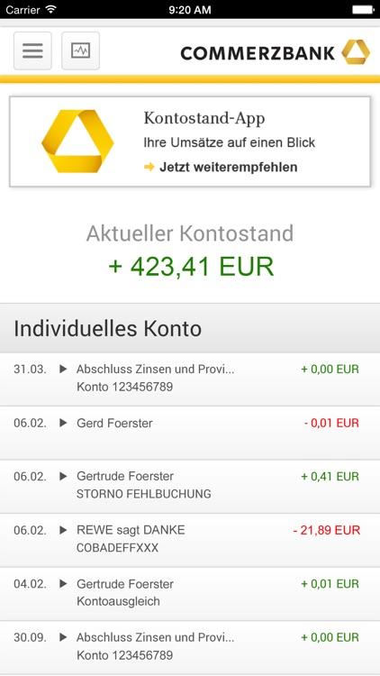 Commerzbank Kündigt Konto