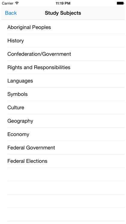 Canadian Citizenship Test - Become Canadian screenshot-3