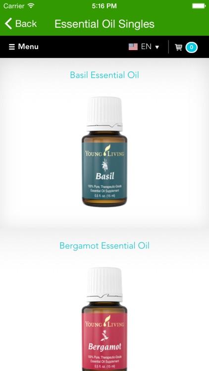 Young Living Essential Oils - Mobile screenshot-4