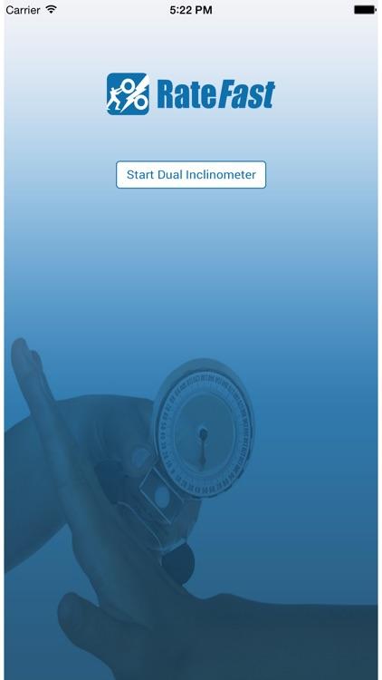 RateFast Dual Inclinometer