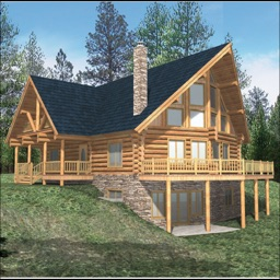 Log Style - House Plans