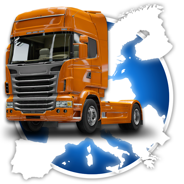 Drive around Europe with your truck