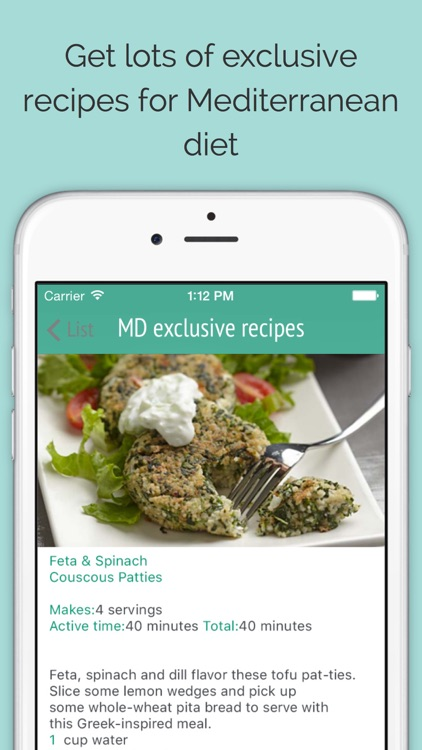 Mediterranean diet: recipes, meal plans and food list by Mikhail Davydov
