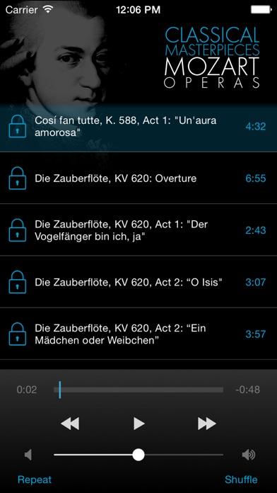 Mozart: Operas screenshot two