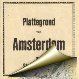 Amsterdam. Historical map