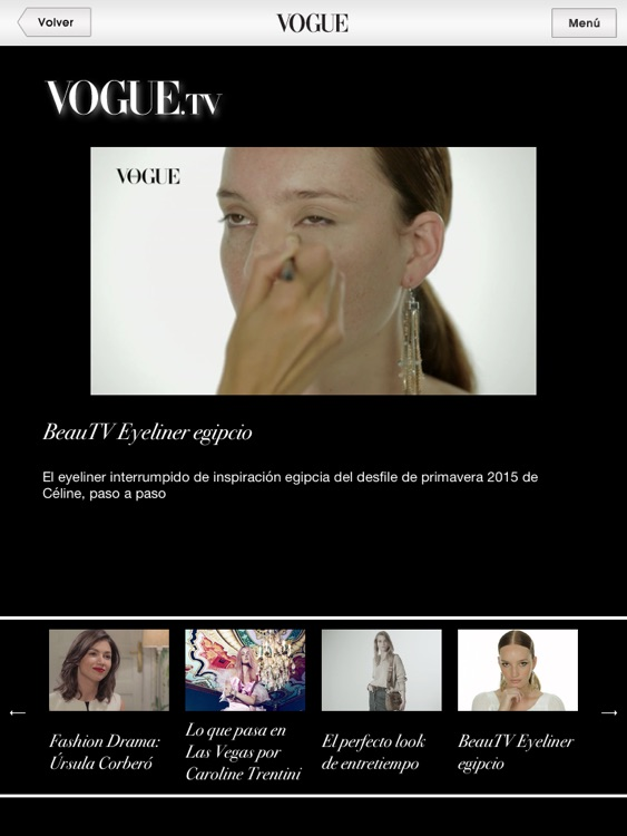 Vogue App screenshot-1