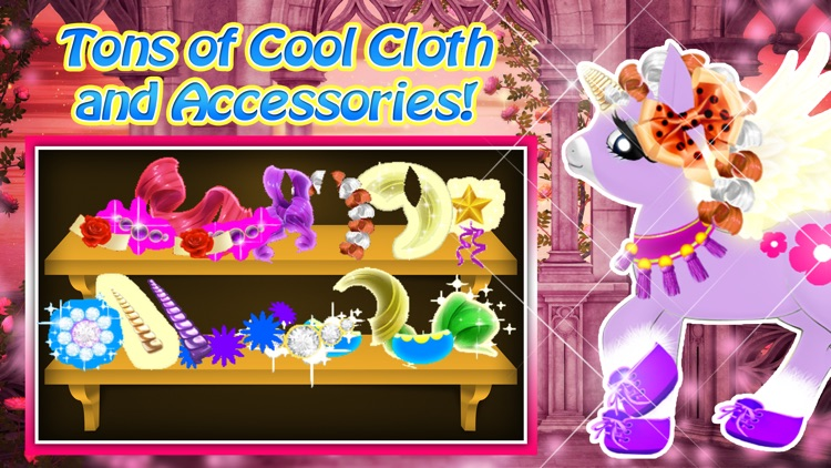 Pinkie Little Pony Dress Up - Play With Baby Horse Pet
