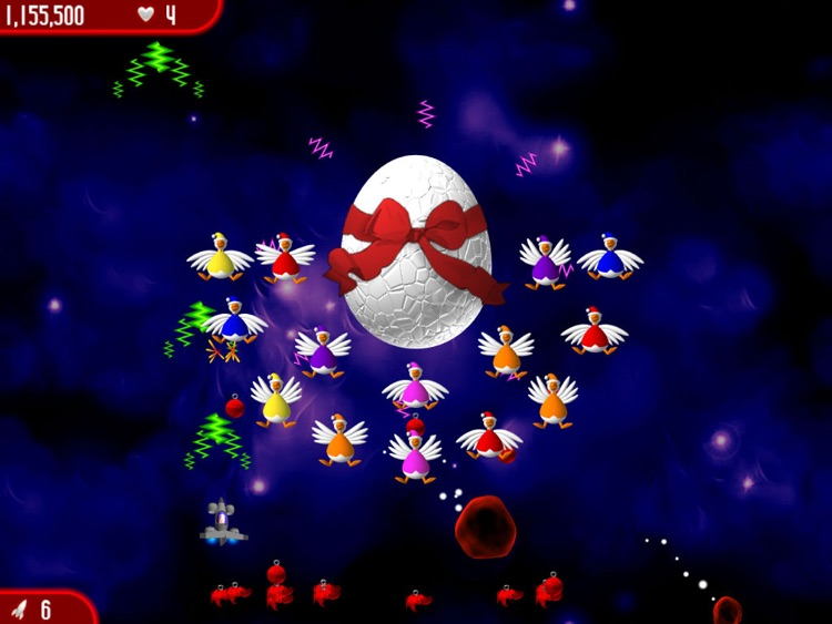 Chicken Invaders 2 Xmas HD screenshot-3