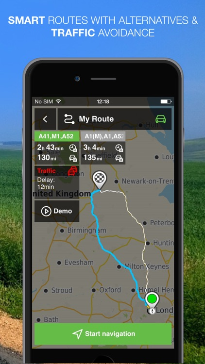 NLife Western Europe Premium - Offline GPS Navigation, Traffic & Maps screenshot-4