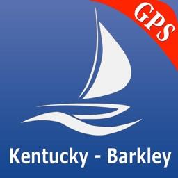 Kentucky Lake and Lake Barkley GPS Nautical charts