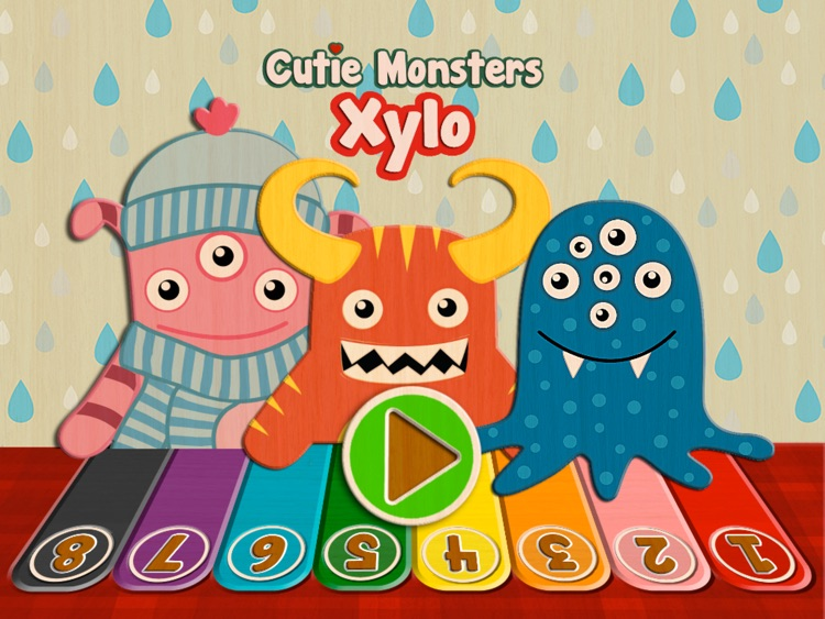 Xylo - Cutie Monsters Xylophone Fun screenshot-0