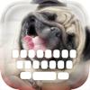 Benutzerdefinierte Tastatur Puppy: Nette Farbe und Tapete Keyboard-Tierbaby-Themen in The Pet Design-