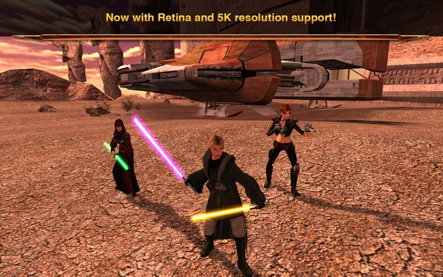 star wars knights of the old republic mac app store