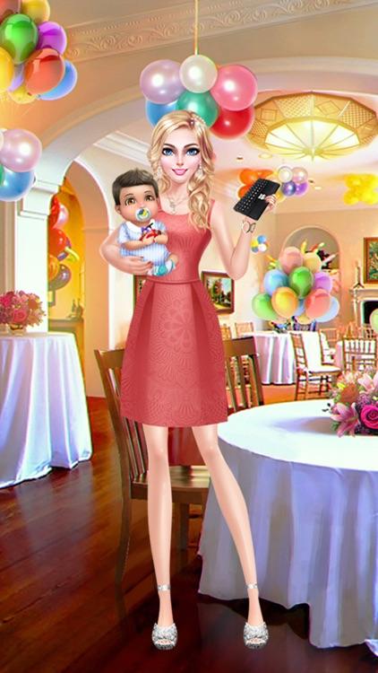 Stylish Mom's Life: Dress Up, Make Up & Baby Care Fun screenshot-4