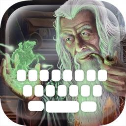 Custom Keyboard Wizard : Wonderful Color & Wallpaper Keyboard Magician Design Themes Photo Fantasy Style