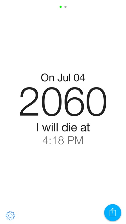 Time Left - A daily reminder to live well