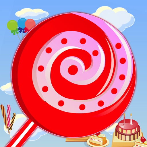 Sweet Candies - Lollipop Candy Match-3 Puzzle Game icon