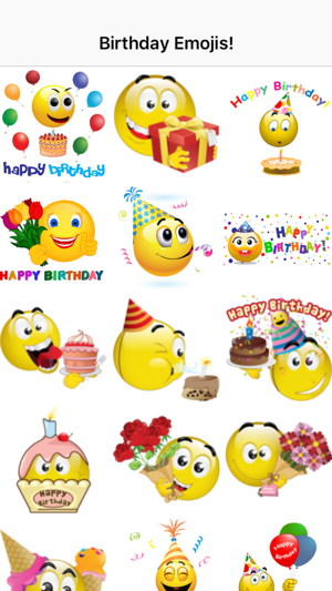 Birthday Emojis On The App Store