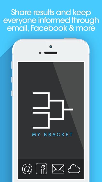 My Bracket + Tournament Manager for Amateur Sports screenshot-3