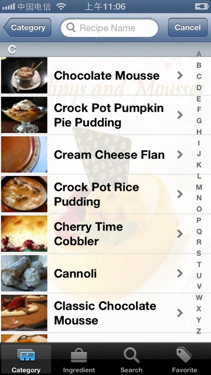 Pudding and Mousse Recipes screenshot-4