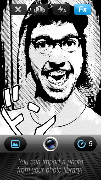Comic Book Camera free screenshot-3
