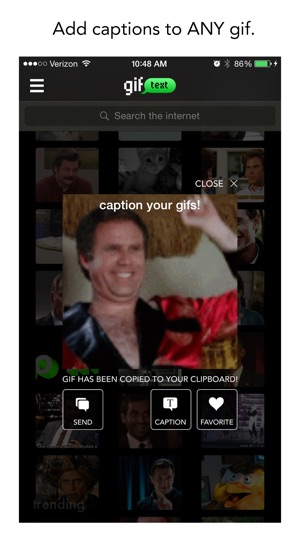 gif text : animated sms messaging and memes on the App Store