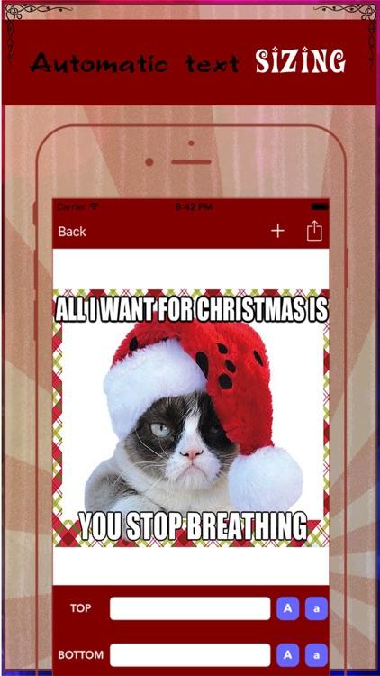 Xmas Meme Photo Generator- Add Caption to Photo & Make Troll Face