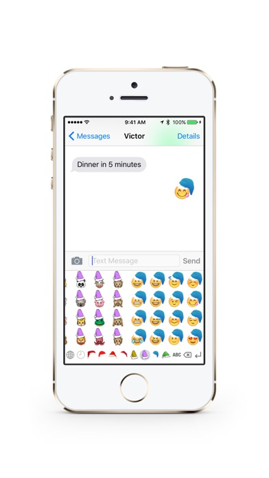 screenshot 6 for christmas emoji keyboard pro
