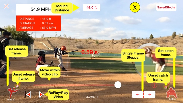 Pitchman Radar Gun screenshot-2