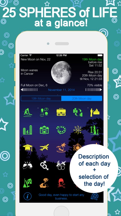 Lunarist Lunar calendar. Horoscope & astrology
