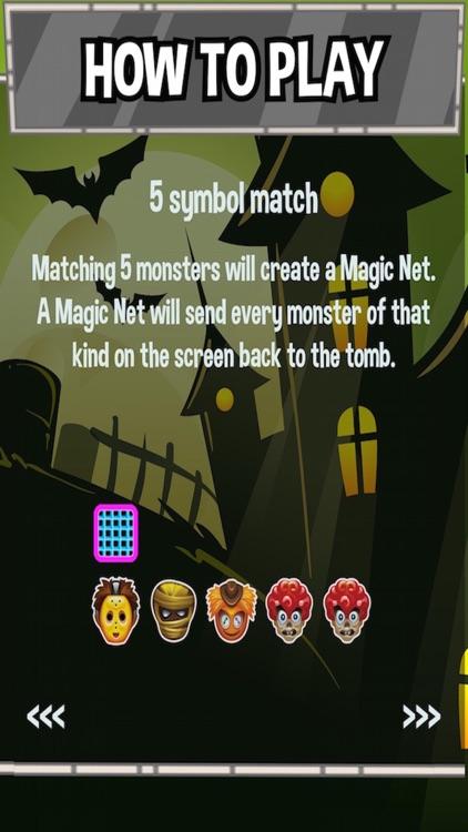 Monster Pile - Matching 3 Dead, Monstrous Zombie Draculas screenshot-4