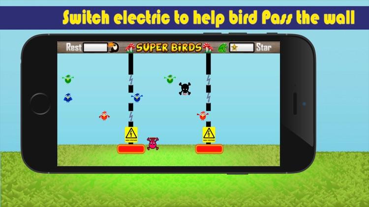 Super Birds Adventures - Birdy Crossing Block screenshot-3