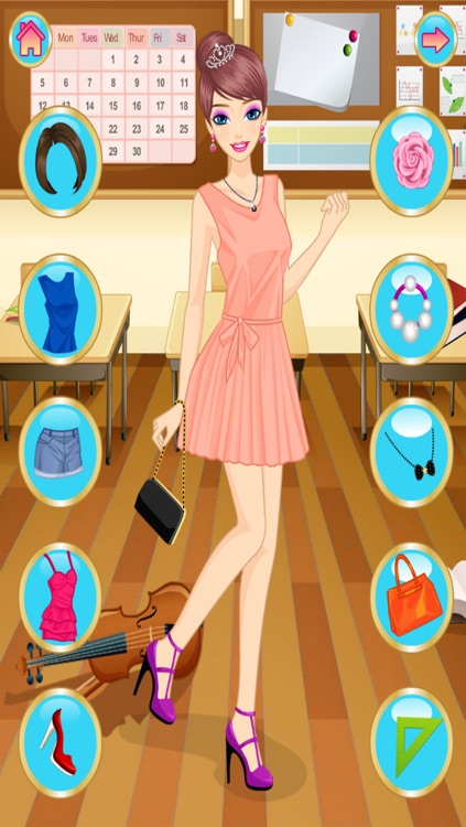 Back To School - Dress Up screenshot-4
