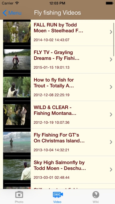 Screenshot for Pesca con mosca in Chile App Store