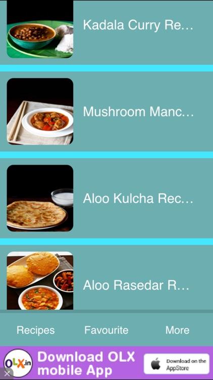 Street Food Recipes screenshot-3